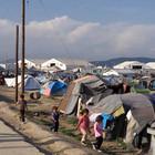 Das Flüchtlingslager im griechischen Idomeni